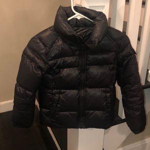S13 Boys Black Coat - Size 8